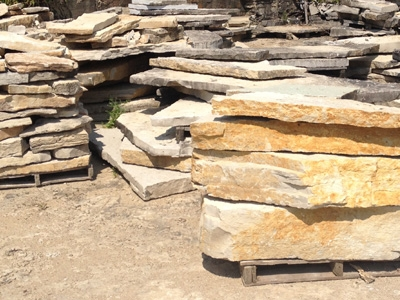 Slabs for outcropping